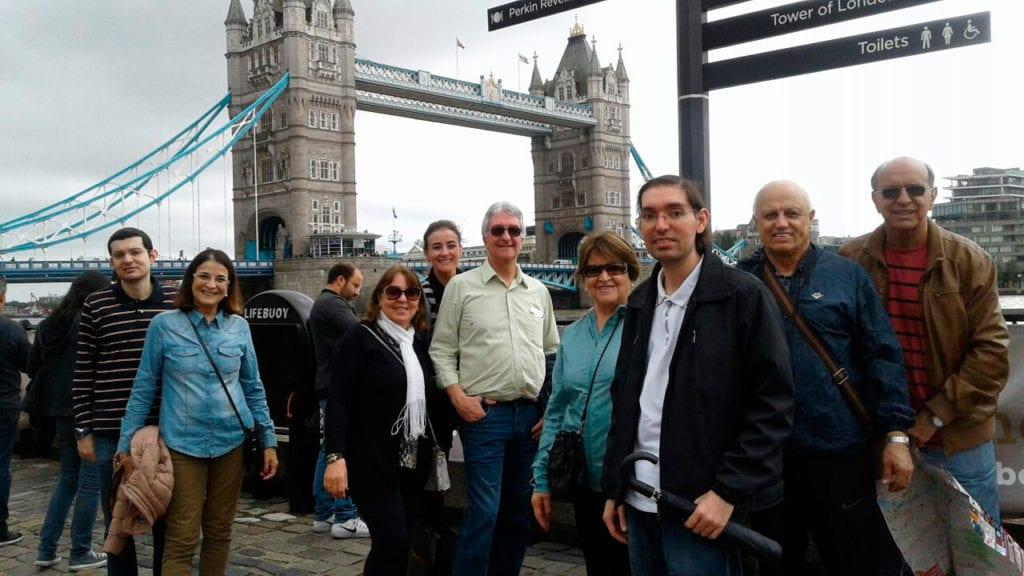 As Grandes Capitais da Europa (Londres, Paris e Roma) – 2017