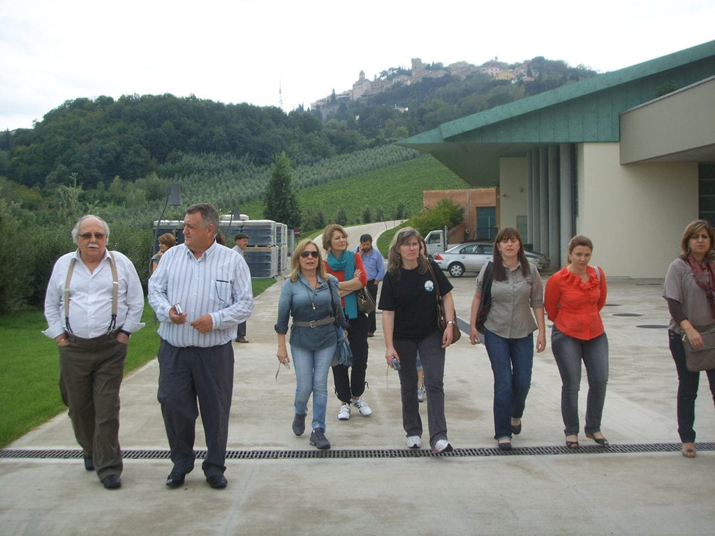 """Delegação de Santa Catarina conhecendo o Programa de Turismo """"Estrada dos Sabores da Emilia Romagna"""" - 2009"""