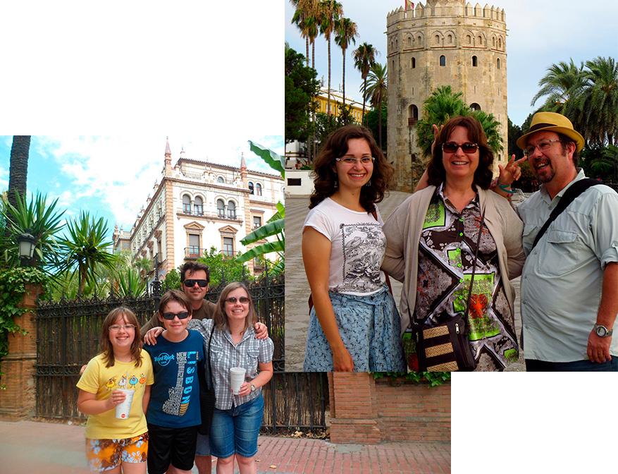 Família na Espanha – 2013